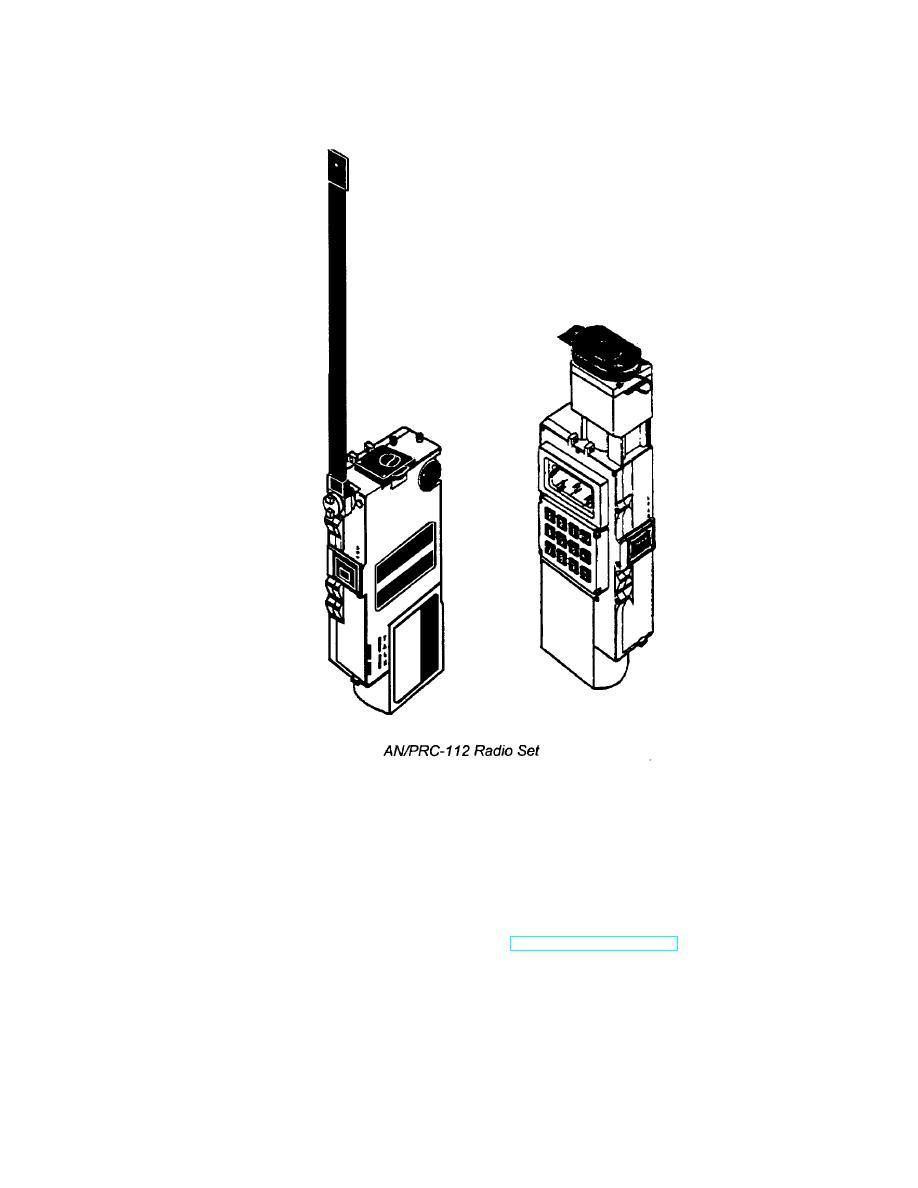 An Prc 112 Radio Set