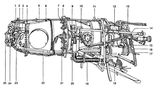 cessna engine oil diagram