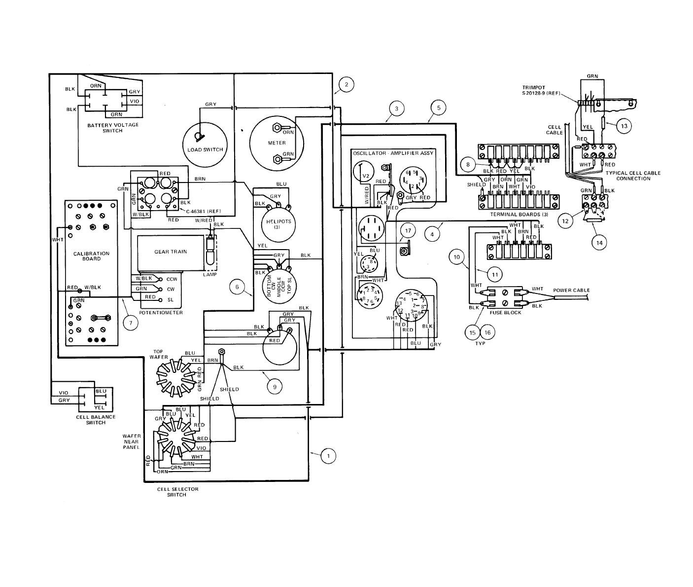 TM 55 6670 200 14 P0032im figure 4 3 indicator assembly wiring diagram (model m 1) charvel model 4 wiring diagram at readyjetset.co
